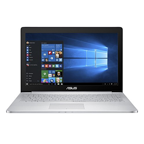ASUS ZenBook UX501VW 15.6' (Intel Core i7-6700HQ, 16GB RAM, 512GB NVMe SSD, NVIDIA GTX 960M, 2GB GPU, IPS UHD Touchscreen Glossy, Windows 10) 64 bit Gaming Laptop (Certified Refurbished)