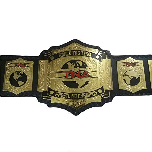 Vitalusa TNA World Tag Team Wrestling Championship Belt Adult Size Replica TNA Title Belt