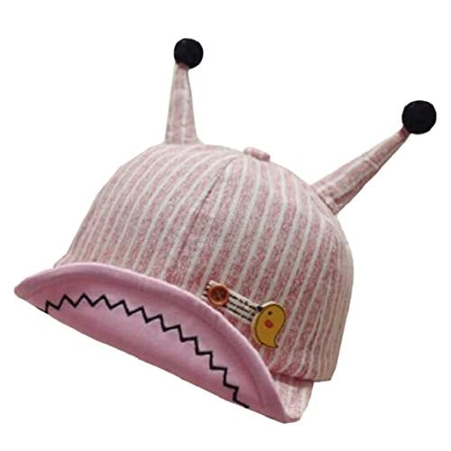 hot Jaycargogo Baby Cute Striped Roll up Brim Anti-UV Outdoor Baseball Hat