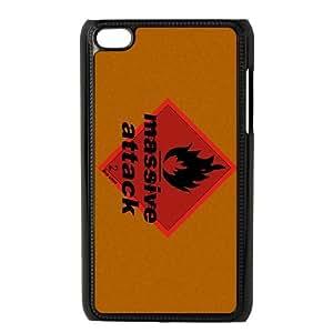 iPod Touch 4 Case Black Massive Attack