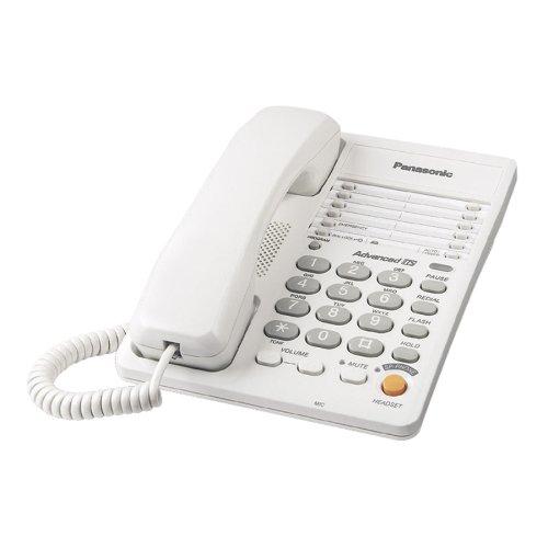 Panasonic KX-TS105W Corded Phone, White by Panasonic