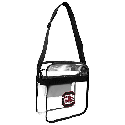 (NCAA South Carolina Gamecocks Clear Carryall Crossbody Purse)