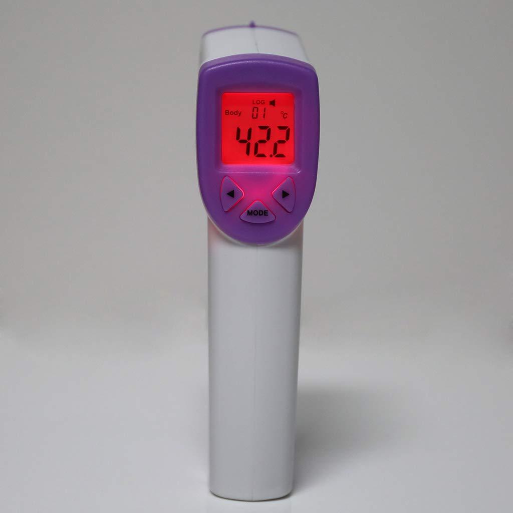 Thermom/ètre infrarouge thermom/ètre num/érique /électronique pour b/éb/é adulte sans contact
