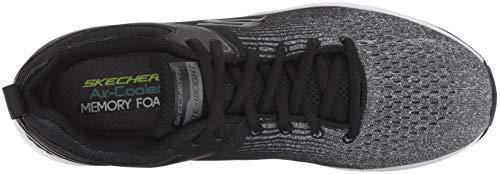 Sneaker Nero Nichlas Black Uomo Grey Skechers w4xq1g5W