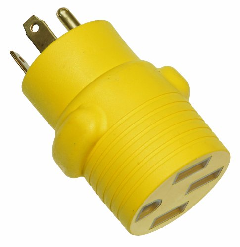 Arcon 14014 Round Generator Power Adapter, 50-Amp Female to 30-Amp Male by Arcon