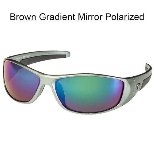 (SOLAR BAT Dave Lefebre (Gray, Brown Gradient Mirror Polarized))