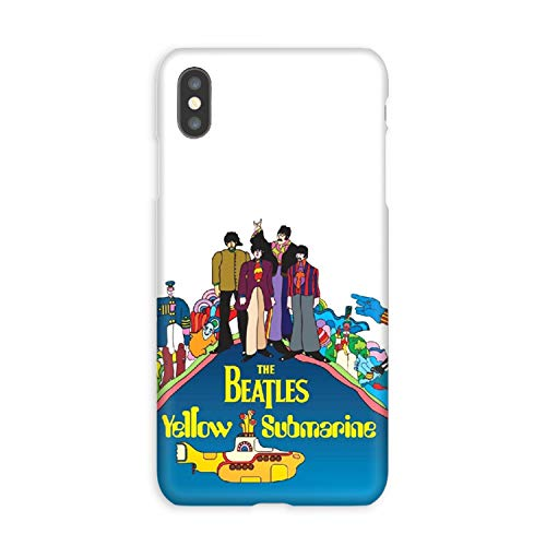(Compatible The Yellow Submarine Soft Gel Case/Replacement for, if Applicable for iPhone Xs Max)