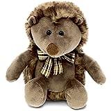 DolliBu CoTa Global Brown Hedgehog With Ribbon - 9 inch - Super Soft Plush - Item #5484
