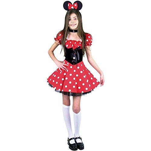 CHILD Medium 8-10 - Cute Little New Miss Mouse Costume