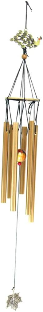 Fish Balcony and Home Decor Metal Feng Shui Wind Chime with Aluminum Alloy Tubes Elegant Outdoor Sympathy Chime for Garden Patio