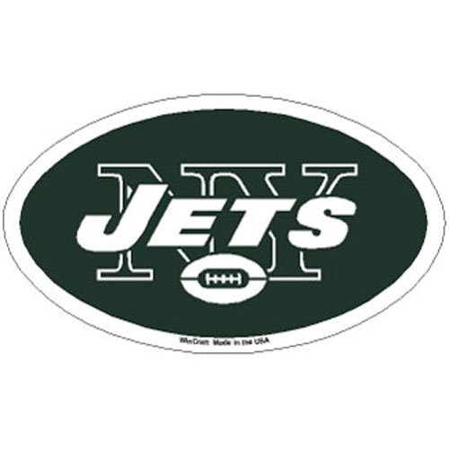 WinCraft NFL New York Jets Premium Acrylic Carded Magnet