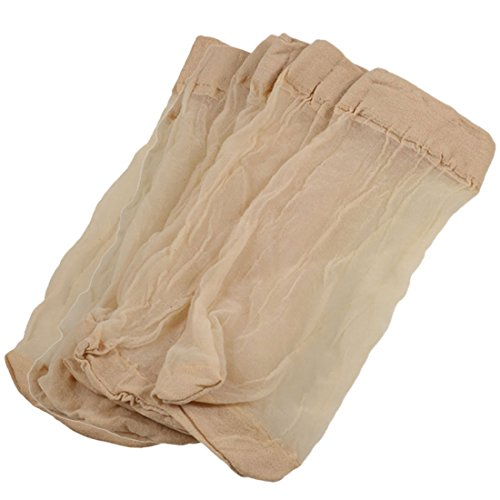 Wholesale 5 Pairs Beige Fitting Stretchy Sheer Socks for Laides supplier