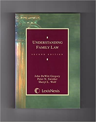 Book Understanding Family Law (Legal Text Series) 2nd edition by Gregory, John Dewitt, Swisher, Peter N., Wolf, Sheryl L. (2001)