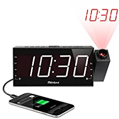 Mesqool Projection Alarm Clock for Bedro...