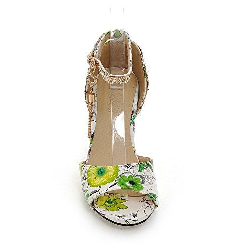 5 Green Ouvert MJS03581 1TO9 Inconnu 36 Femme Bout Vert tnwY8qdqxT