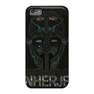 Iphone 6plus NJe15631DKxL Support Personal Customs Trendy Einherjer Band Series High Quality Hard Phone Case -AshleySimms