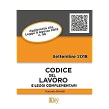 Codice del lavoro e leggi complementari (Codici Tascabili) (Italian Edition)