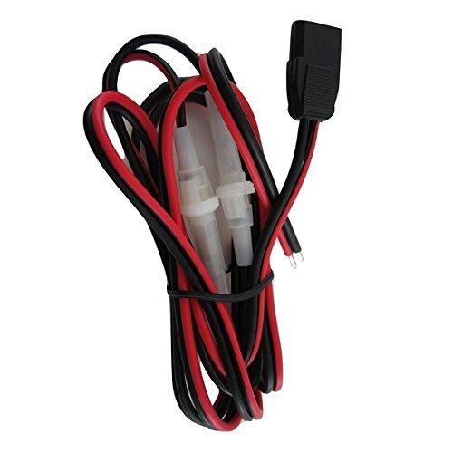 3 pin POWER CORD Extra HEAVY Duty 12 Ga for CB / Ham radios - Workman CB3AXX