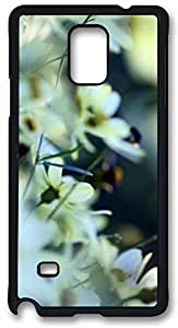 White Small Flowers Iphone 5/5S , Iphone 5/5S Case, Iphone 5/5S PC Black Case Cover