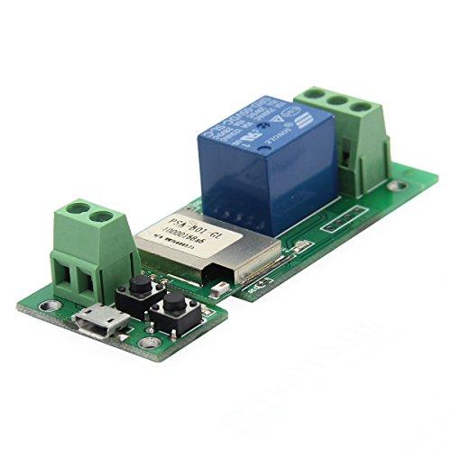 USB 5V DIY One Channel Jog Inching Self-locking WIFI Wireles