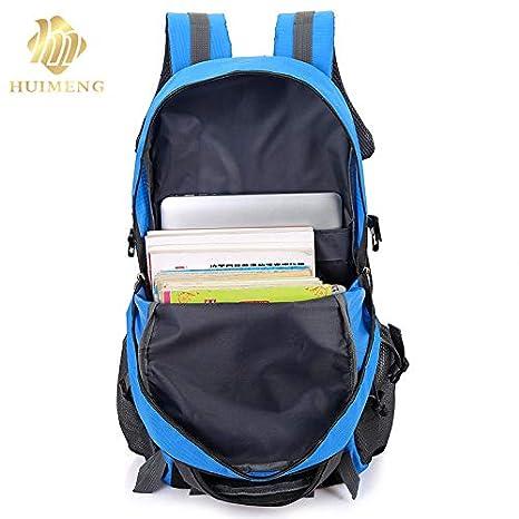 Amazon.com: 2018 Travel Functional Package Fashion School Bag Waterproof Nylon Men Backpack Women Rucksack Trekking: Kitchen & Dining