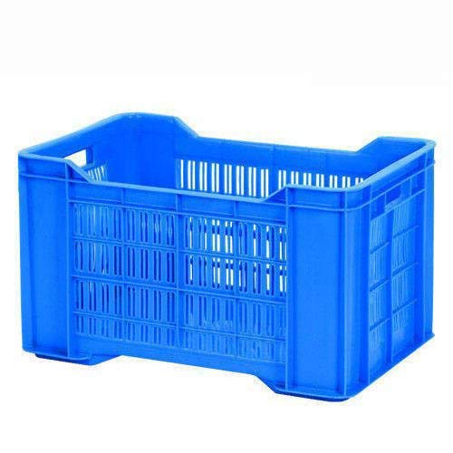 Nilkamal Multi-Purpose Use Crates-53300 JR (500x300x300mm) (Finish Color -Blue)