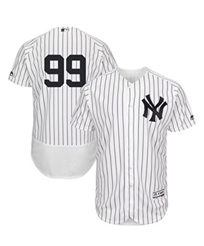 Nighty's Shop Mens #99 Aaron_Judge Home White Player Stitched Baseball Jerseys (M)