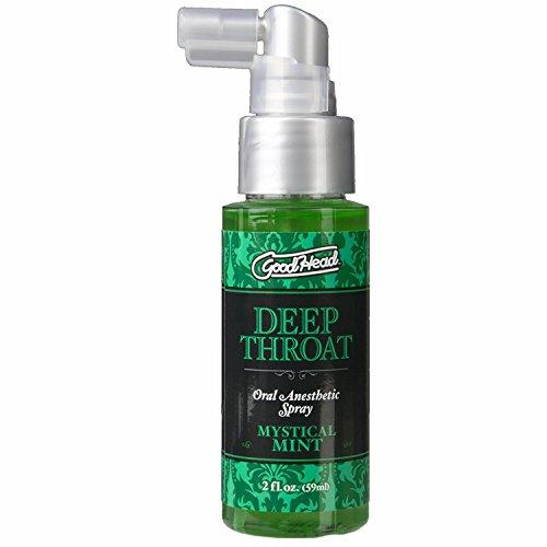 Doc Johnson Goodhead Deep Throat Oral Anesthetic Spray Mystical Mint 2 (Oral Spray)