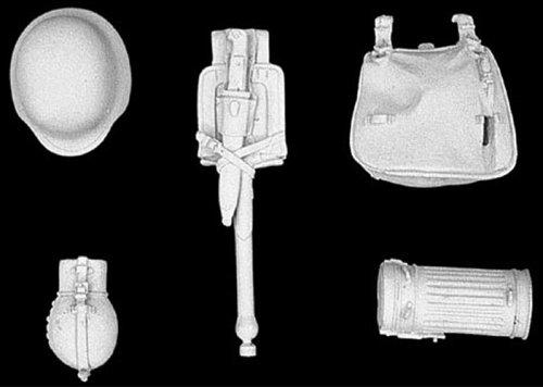 アンドレアミニチュアズ S8-A14 German infantry equipment