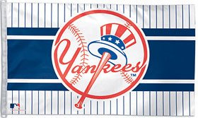 New York Yankees 3x5 Flag - Top Hat Design