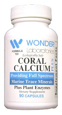 Pure Marine Coral Calcium Wonder Laboratories Coral Calcium is CESIUM FREE – 90 Capsules #7231 Review