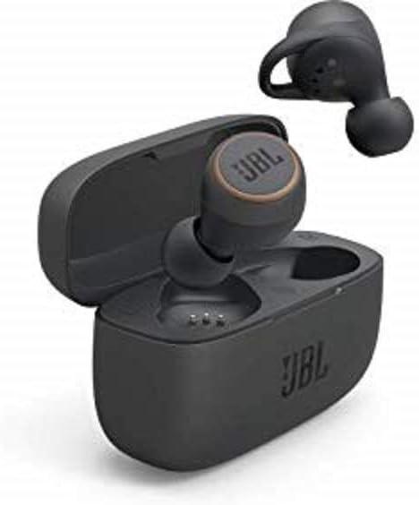 JBL LIVE 300 TWS Cuffie In-Ear True Wireless Bluetooth – Auricolari con Microfono, Noise Cancelling, Alexa Integrata e Assistente Google – Fino a 20h di Autonomia, Nero