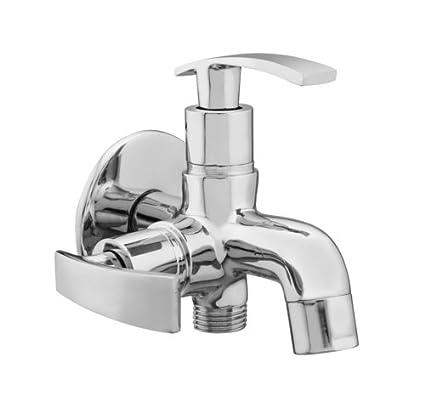 Qtm Brass Toilet Valve Taps Bathroom Faucet Bathroom Fittings Accessories Dolphin Series Ss Heavy Premium Taps