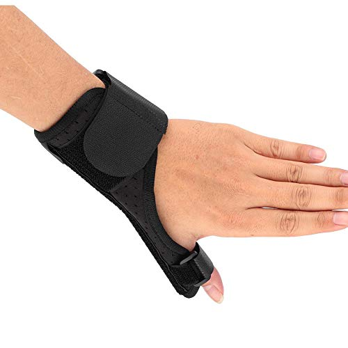 Vruping Thumb Splint, Breathable Thumb Spica Support Brace Fits Both Right Hand and Left Hand for Men and Women for Sprain Joint Fixed Correction