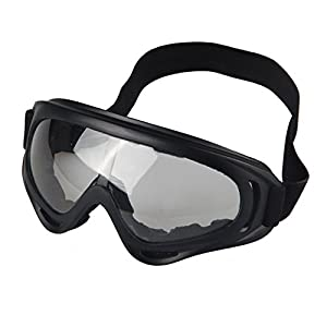 Daixers Comfortable Breathable Safety Goggle For Outdoor Sports,Bicycle,Motorcycle (clear)