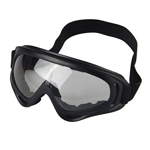 Daixers Comfortable Breathable Safety Goggle For Outdoor Sports Bicycle Motorcycle  Clear