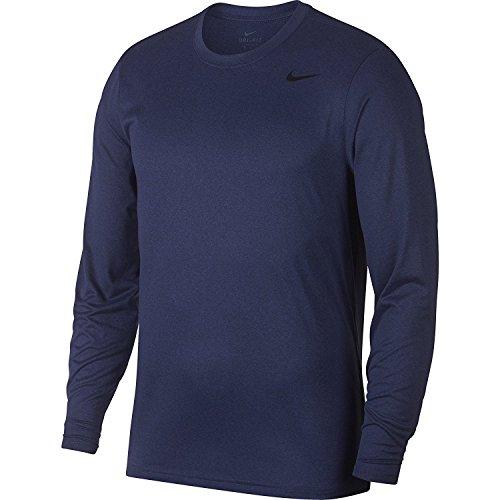 Nike Mens Legend 2.0 Long Sleeve Dri-Fit Training Shirt - 718837-429 (Binary Blue Size Small)