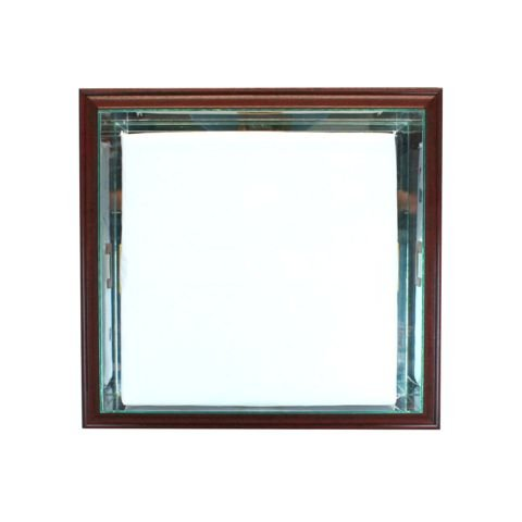 Perfect Cases WMBaseCase-C Wall Mounted Base Display Case44; Cherry   B015EQHCTG
