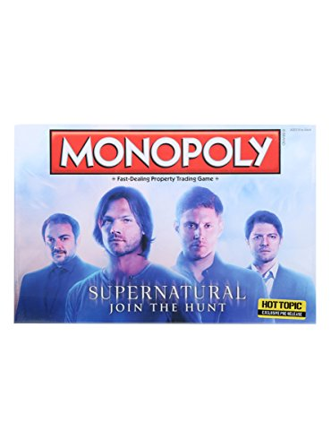 Monopoly  Supernatural Collectors Edition Board Game