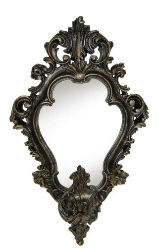 Hickory Manor House Empire Mirror, Black Gold -