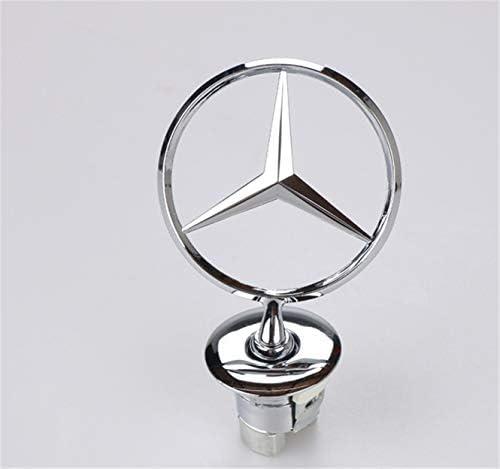 ifty1993stock Mercedes Benz Black Gloss Badge Logo Emblem Rear Boot Class C B E S GLK ML 90mm