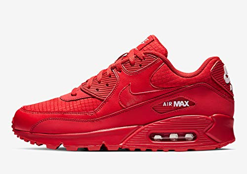 Nike Air Max 90 Essential (12 D(M) US, University Red/White)