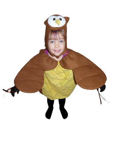 Dance Costume Barn Ideas (Fantasy World F68 Halloween Owl Costume for children Size)