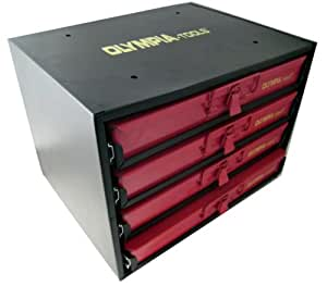 Olympia Tools 90-800 2000-Pieces 4-Drawer Hardware Organizer