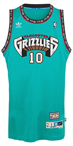 Adidas Mens Vancouver Grizzlies Nba Mike Bibby Swingman Jersey Purple X Large