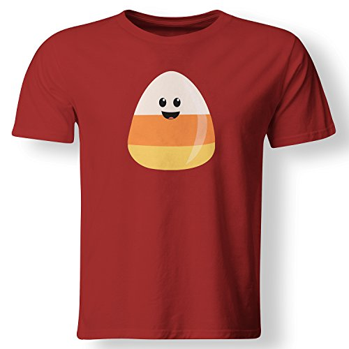 Cute Candy Corn Lazy Easy Costume Candy T Shirt Red Large (Cute Candy Corn Costumes)