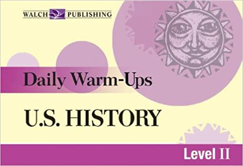 Amazon.com: Daily Warm-Ups: U.S. History Level 2 ...