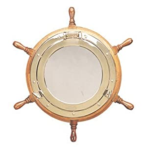 41ESPPWf47L._SS300_ Nautical Themed Mirrors