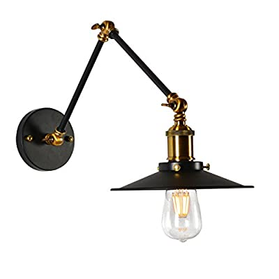 En AppliqueModerne Fer Forgé Lampe Ajzgfapplique Double Réglable ul1JT3FKc