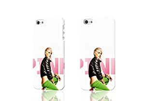 Alecia Moore - Pink Photo Hard 3D Rough Case , Fashion Image Case Diy, Personalized Custom Durable 3d Case For iPhone 4 & iPhone 4S
